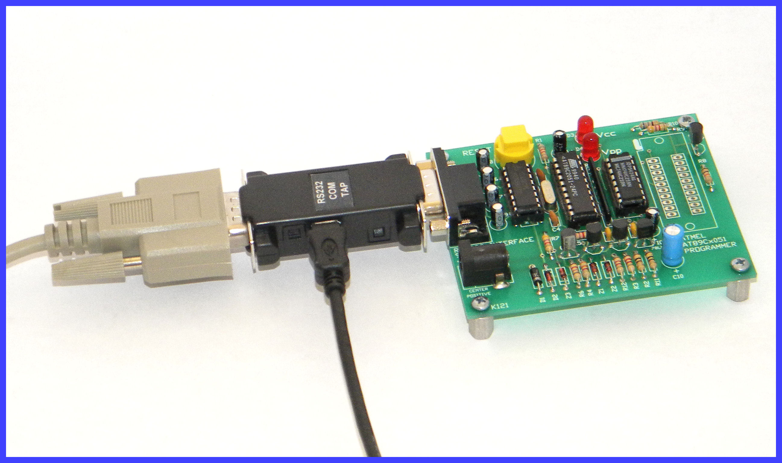 DB9 Connector with Evaluation Board