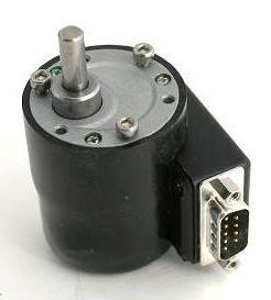 DB9 Connector with Stepper Motor