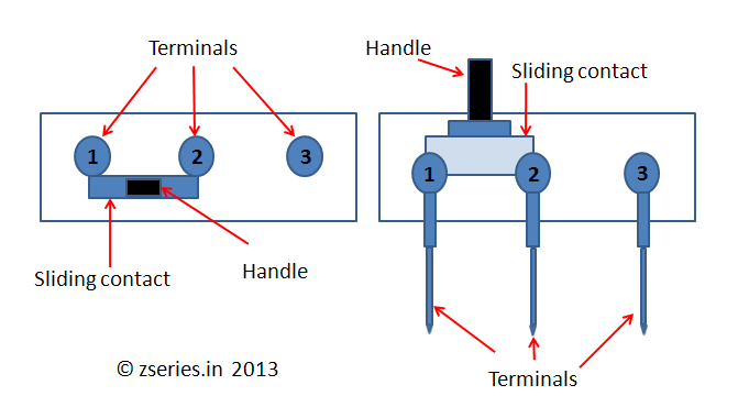 slide switch precise information and various applications of slide switch