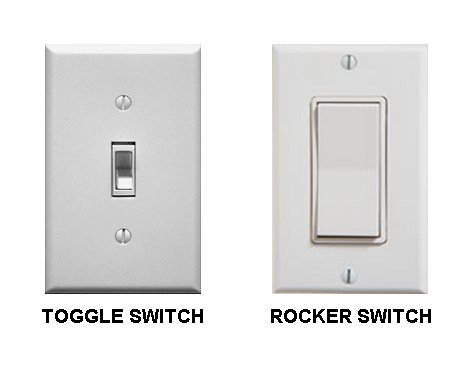 Toggle Switch Vs Rocker Switch